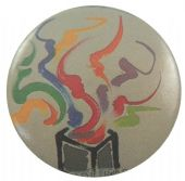 Chris de Burgh - 'Into the Light' Button Badge